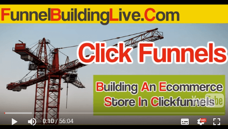Where I Build An Entire Ecommerce Store In Clickfunnels